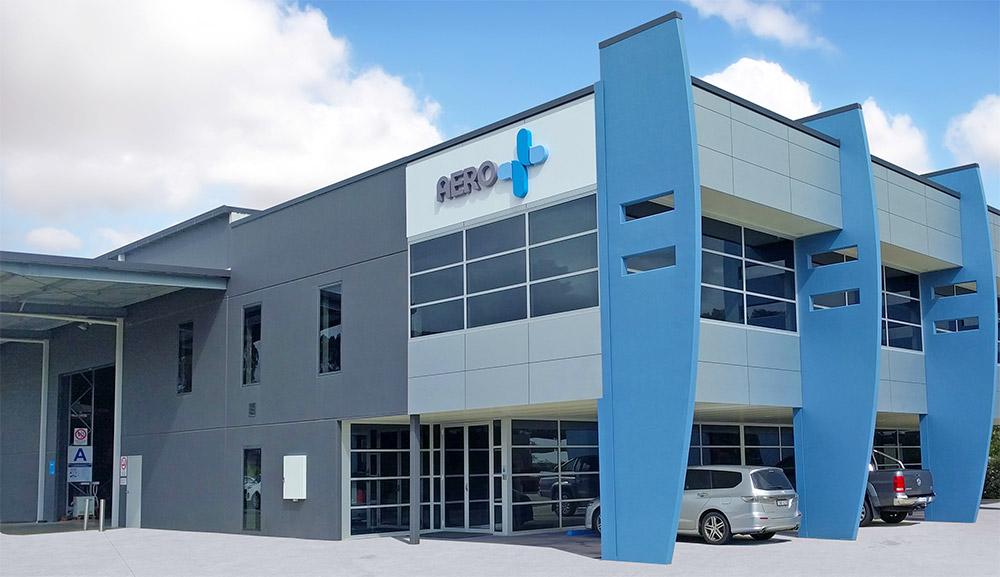 Aero Flow Filters Building